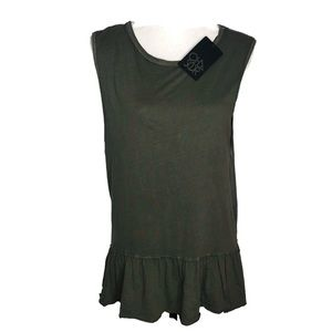 Chaser tank top.  Material/vintage look size Med